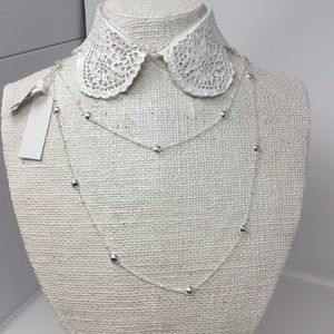Gorjana Jewelry Marlow Beaded Station Necklace